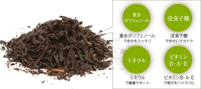プーアール茶葉